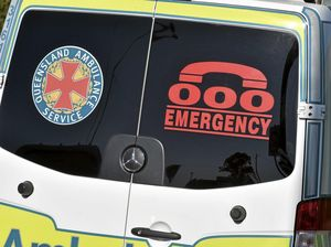 Ambos called after car stuck in water