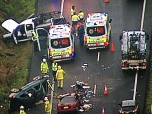 Bruce Hwy crash causes traffic chaos for Coast commuters