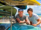 MasterChef alumni Hayden Quinn and Dan Churchill brought their show, Surfing the Menu: Next Generation, to the Whitsundays recently.