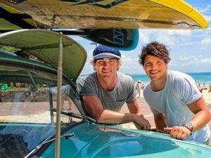 Hayden Quinn and Dan Churchill, Surfing the Menu Next Generation.