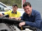 The council is donating abandoned vehicles for CQUnversity Emerald students to hone their skills on.