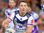 SMART PLAYER: Cooper Cronk in control for the Storm during the last clash with the Broncos at Suncorp Stadium.