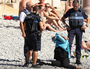 A woman was forced to strip off her bikini on a beach in France. Source Twiiter.