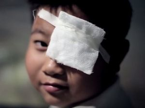 At nine years of age, Quiń had an accident that caused a cataract to one of his eyes. In an instant; this little boy with his whole life ahead of him faced a future of blindness.