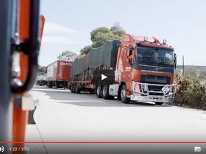 RACQ'S new safety video talks to a truckie about sharing the road
