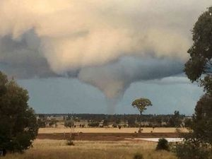 Tornado touches down on Darling Downs