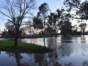 FLOOD WATCH: Condamine River bursts banks