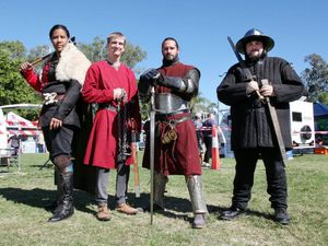 Fleau des Francais will do a demonstration at the Victory Village at Riverbend open day, this Sunday.