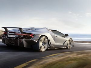 Lamborghini reveals its $3 million Centenario Roadster