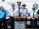 Assistant Commissioner Michael Keating, Road Safety Week.Photo Allan Reinikka / The Morning Bulletin