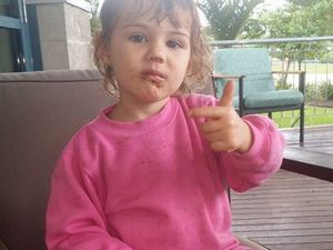 Zoey, 3, fighting for her life after swing accident
