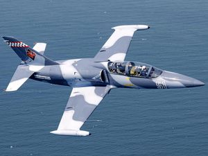 HIGH FLYERS: Vintage aircraft like the Aero Vodochody L-39 Albatros will be part of this weekend's Brisbane Valley Air Show.