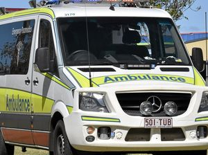 Ambulance called to bike accident east of Warwick