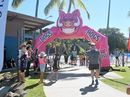 READY SET GO: About 160 kids were involved in the Ergon Energy Kidzpower Triathlon this afternoon in Airlie Beach and they all had a blast. Photo Inge Hansen / Whitsunday Times.
