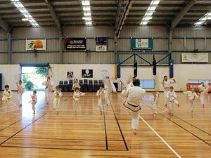 Mackay martial arts academy's 40,000 kicks for charity