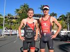 Triathlon champions, Sam Betten and Max Neumann put on an impressive show at the Colorbond Airlie Beach Triathlon this morning.
