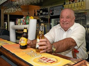 Withcott Hotel owner Neil Simpson says he is proud Withcott is Queensland's friendliest town.