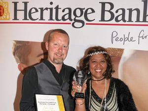 And the winner of the Heritage Bank Business Excellence Awards is....