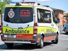 Taxi and Holden collide in north Rocky crash