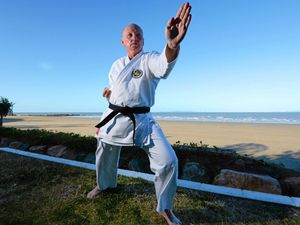 ACHIEVEMENT: Gary Chalk has recently earned his black belt in karate.