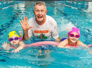 FREE LESSONS: Learn to Swim Week ambassador and former Olympic swimming coach Laurie Lawrence supports free swimming lessons for kids.