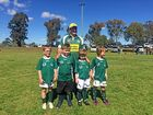 THE Condamine and Chinchilla Junior Rugby Union U7s have played their final carnival for the season - and possibly forever.
