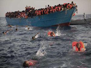 Thousands of refugees needed rescuing off EU coast