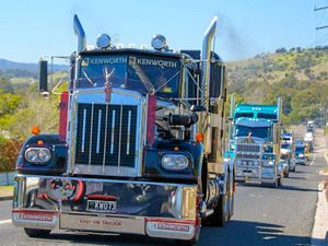 Lowood truck show parade