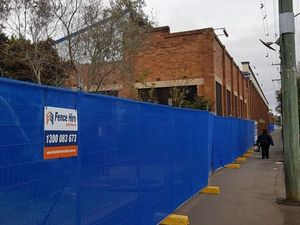 Demolition works have started at the Toowoomba Foundry.