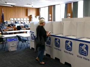 Pre poll voting in Grafton