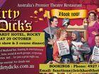 Dirty Dick's is Australia's most popular Theatre Restaurant.