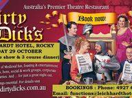 Dirty Dick's is Australia's most popular Theatre Restaurant.