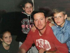 Rare cancer took my leg but won't take me: Warwick dad