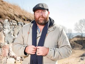 Shane Jacobson: actor, comedian, dad ... part-Viking?