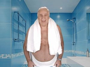 CHECK YOUR PROSTATE: Ambassador Sam Kekovich tells Aussie men to get checked.