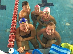 Swimmers get down to business as season kicks off