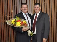 Two council employees received honours at the 2016 Bowen and Collinsville Business Awards.