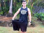 Steven Haaijer has lost 90kg.