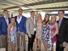 Keeghan, Sefton, Ellie Wood, Donald Ross, Jack McGrath, Victoria Ross, Elizabeth Killalea, Stephanie Ross and Sam Ross at the trots.