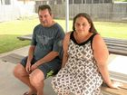 Terminally ill man Patrick Leggett, with his friend Jacinta Patterson, can't believe his bike was stolen from outside his West Mackay home.