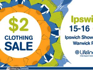 Lifeline Ipswich $2 Clothing Sale
