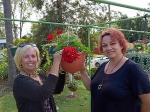 Garden therapy keeps Sandra's illness at bay
