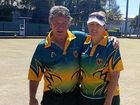 EMERALD Bowlers Jules Johnson and John Henman took out Mixed Pairs titled at the Mackay Zones bowls competition last month.