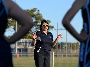 JUNIOR NETBALL: Australia netball coach Lisa Alexander.