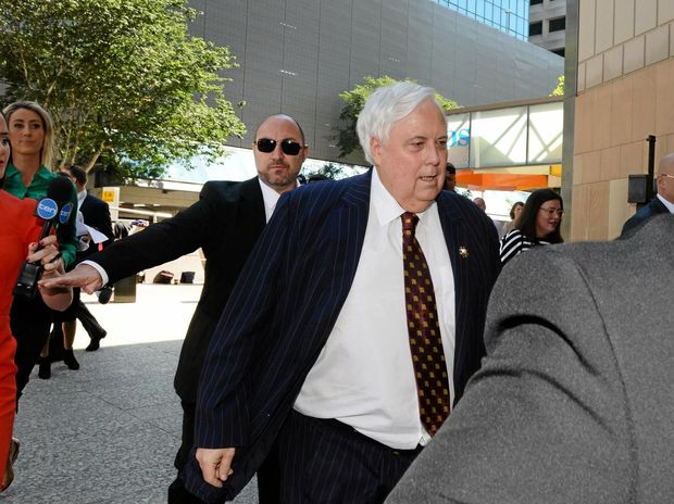 Clive Palmer pushes media heading into court over Queensland Nickel collapse