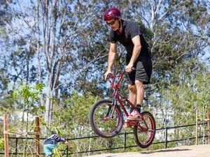 Champion designs the 'perfect' BMX track