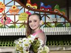 Dalbys Johanna Sinnamon is the children's hospital ambassador who will ride on the Range Woolworths float in the Grand Central Floral Parade. Carnival of Flowers 2016.
