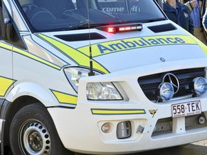 One-year-old girl suffers burns to chest and arms