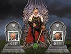 STRANGE POLITICS: The new emperor Malcolm Turnbull is only too happy to see off Tony Abbott and Smokin' Joe Hockey.
