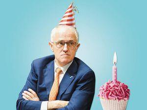 Strange Politics: Turnbull's crappy birthday party